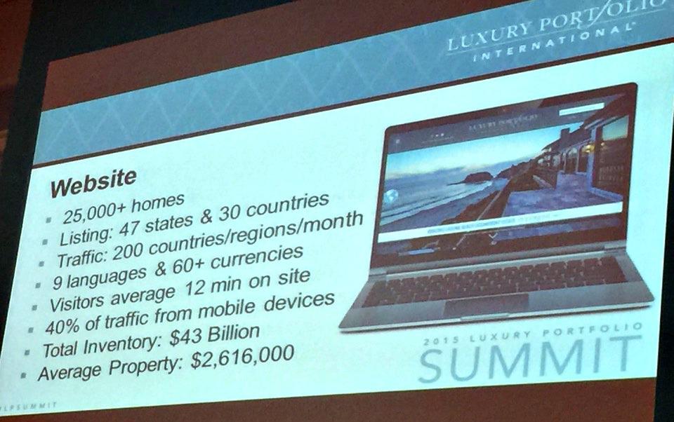 Luxury Portfolio Summit in Vegas was GREAT!