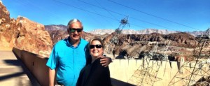 Troi and Jeff at Hoover Dam