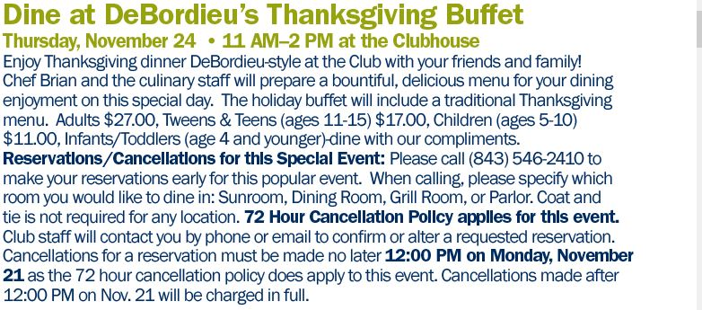 deb-club-thanksgiving-buffet-2016