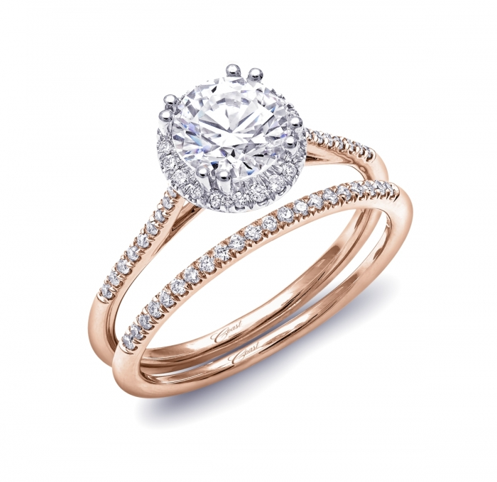 Engagement Ring LC5403RG Rose Gold Collection Coast