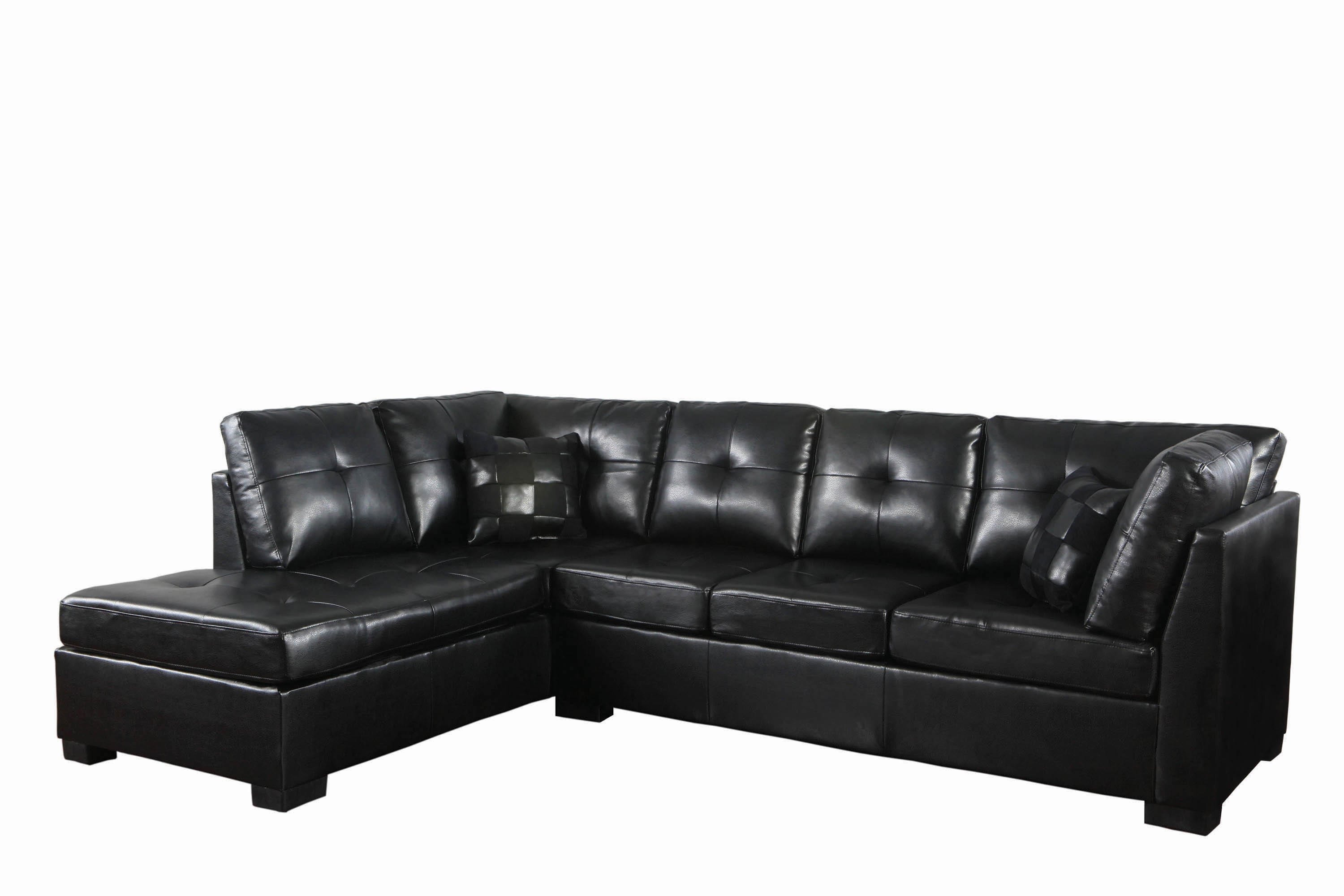 darie cushion back tufted sectional