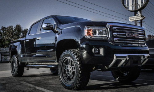 GMC Canyon with Lift Kit