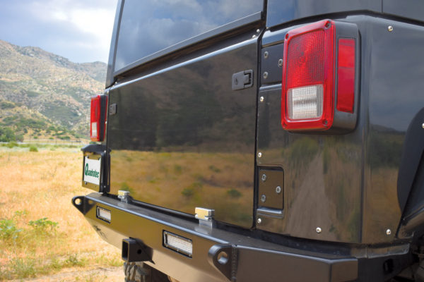 Poison Spyder Jeep JK Trail Gate Door Installed