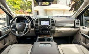 Ford F450 Super Duty Interior Dashboard