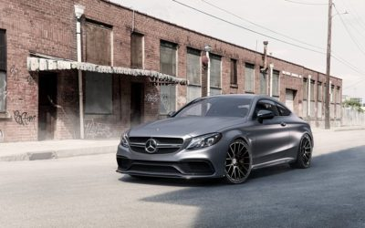 Mercedes Benz on Forgiato Flow 001 Wheels