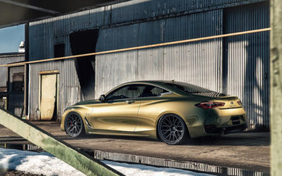 Infiniti Coupe on Forgiato Flow 001 Wheels