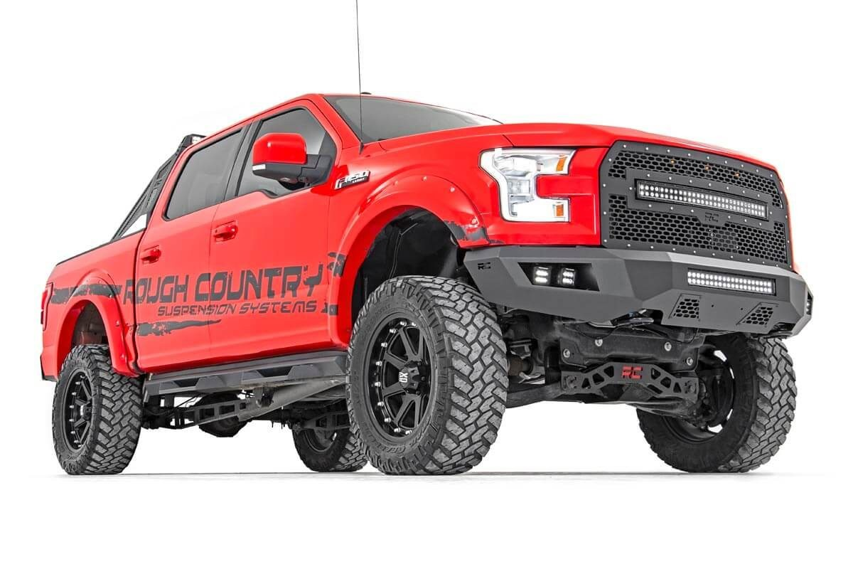 Rough Country F150 LED Front Bumper Full Truck