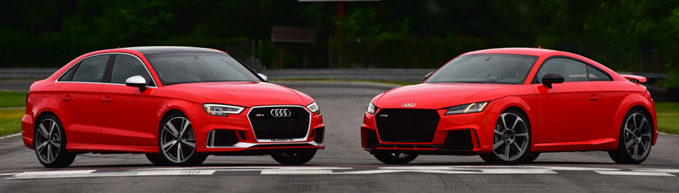 Audi RS3 and TTRS Side by Side