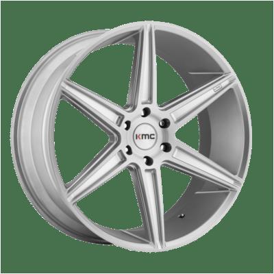 KMC Wheels KM712 Silver