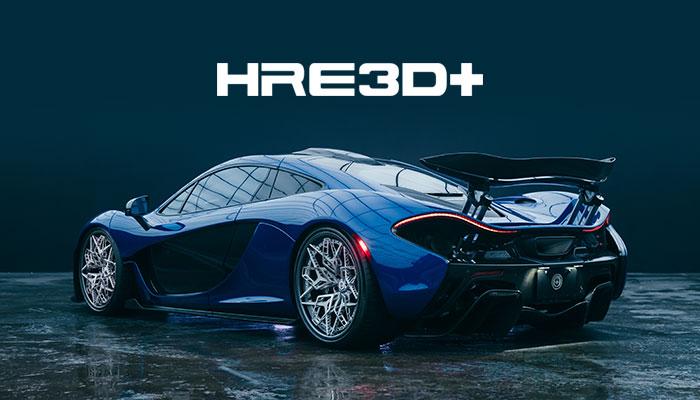 HRE 3D Printed Titanium Wheel on McLaren