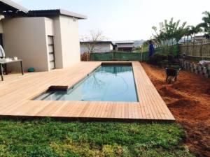 pool decking Zimbali