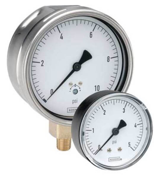 pressure-gauge-noshok-dial-indicating-200-series