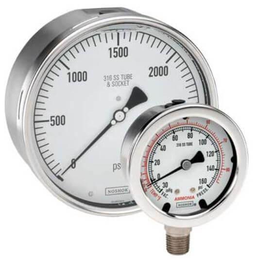 pressure-gauge-noshok-dial-indicating-400-series
