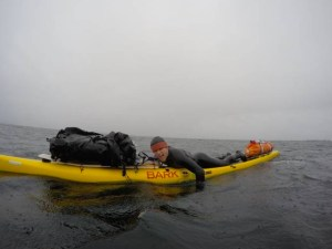 Casey and Ryan Higgenbotham, NorthAmerican Paddlers, Prone Paddle from Alaska to Mexico
