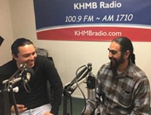 """Domingos en Espanol"" with Joaquin Jimenez and Ulises Zatarain on KHMB Radio @ KHMB Radio | Half Moon Bay | California | United States"