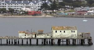 Romeo Pier Coming Down
