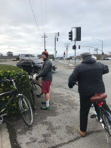 Bike Tour with New HMB City Manager, Bob Nisbet, and Vice Mayor, Adam Eisen