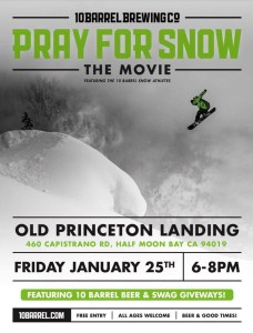 Pray for Snow ~ Friday Movie Night at OPL @ Old Princeton Landing