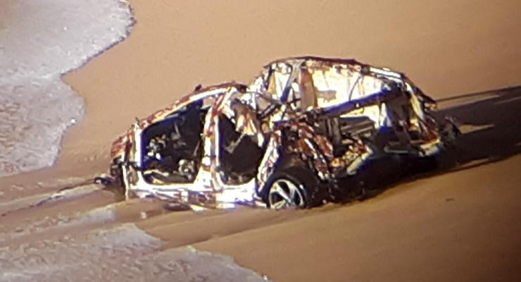 Lost Car Found at Montara State Beach After Valentine's Storms