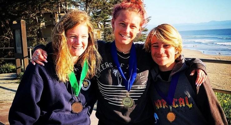 Half Moon Bay High School Surf Team Results from Manresa