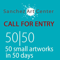 Artist's Call for Entry: 11th Annual 50 50 Show ~ 50 Small Artworks in 50 Days @ Sanchez Art Gallery @ Sanchez Art Center   Pacifica   California   United States