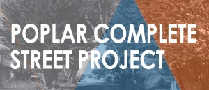 City Council to Consider Award of DESIGN Contract for POPLAR Complete STREET Project @ Ted Adcock Community Center