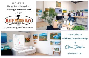 Exhibit of Coastal Painting by Ellen Joseph at the HMB Distillery @ HMB Distillery | Half Moon Bay | California | United States