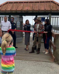 Sea Hugger's Ribbon Cutting Speech for the NEW Seabin at Pillar Point Harbor