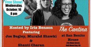 Comedy at the Cantina ~ New Standup Showcase Hosted by Iris Benson @ Cantina at San Benito House Historic Inn | Half Moon Bay | California | United States