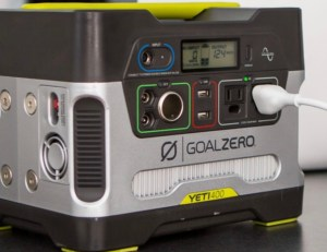 Recommend Goal Zero Yeti 400 Power Station + Boulder 50 Solar Kit