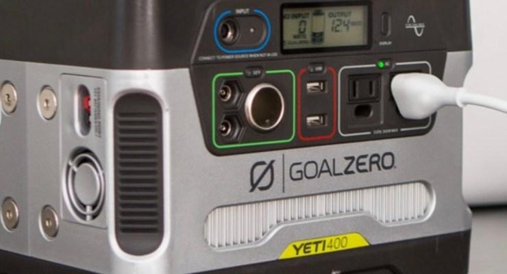 Recommend Goal Zero Yeti 400 Power Station + Boulder 50 Solar Kit