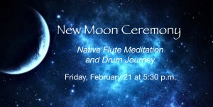🌙 New Moon Ceremony ~ Native Flute Meditation and Drum Journey @ Joy of Being | Moss Beach | California | United States