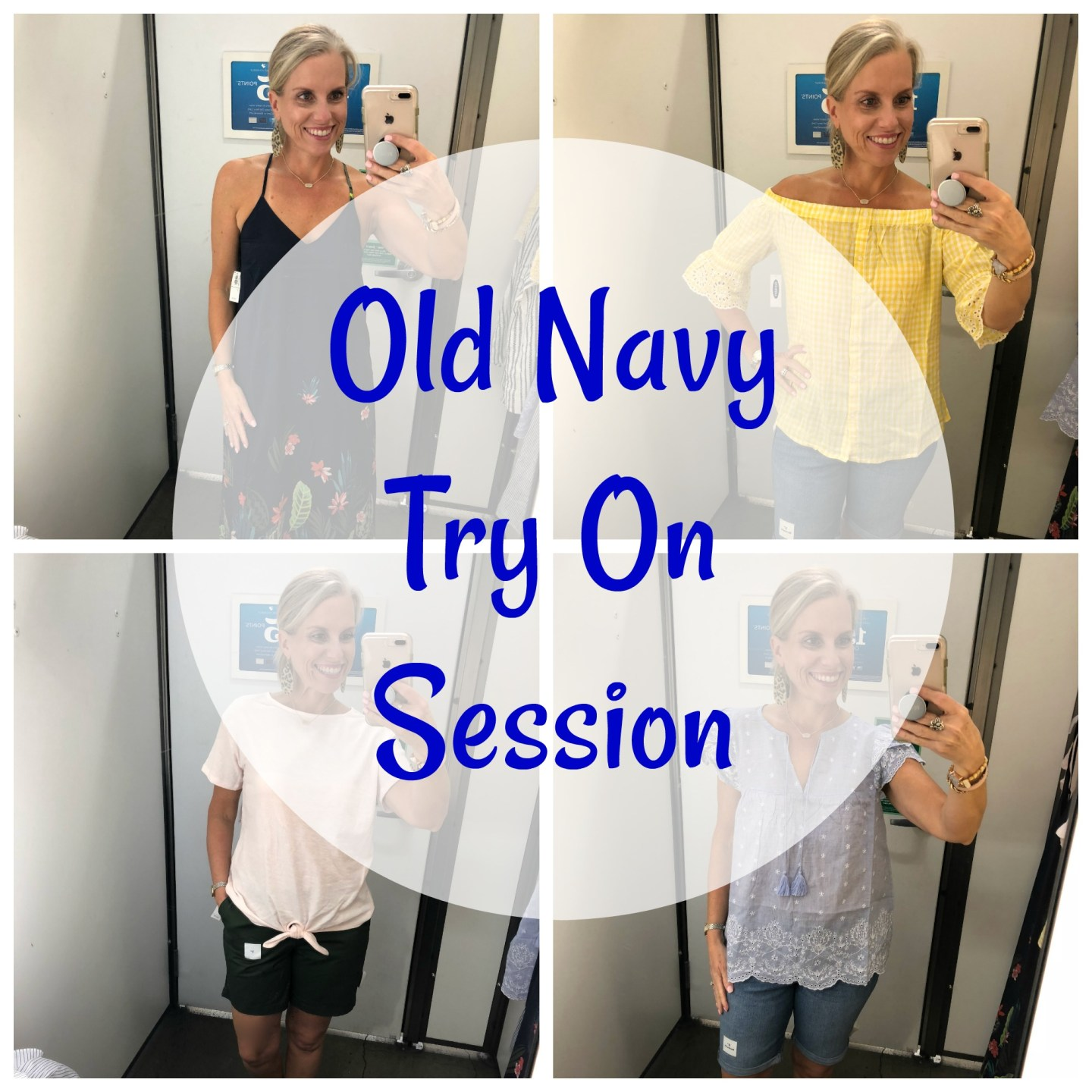 Mini Old Navy Try On