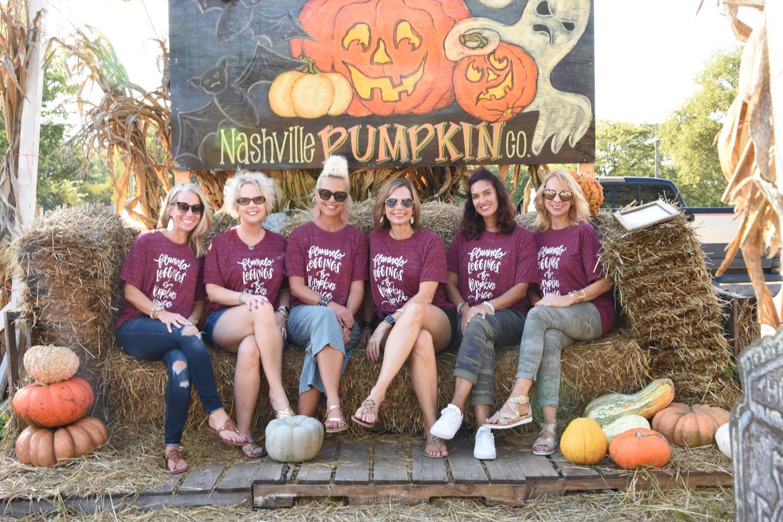 Nashville Pumpkin Co., Nashville Blogger Meet Up, Graphic Tee