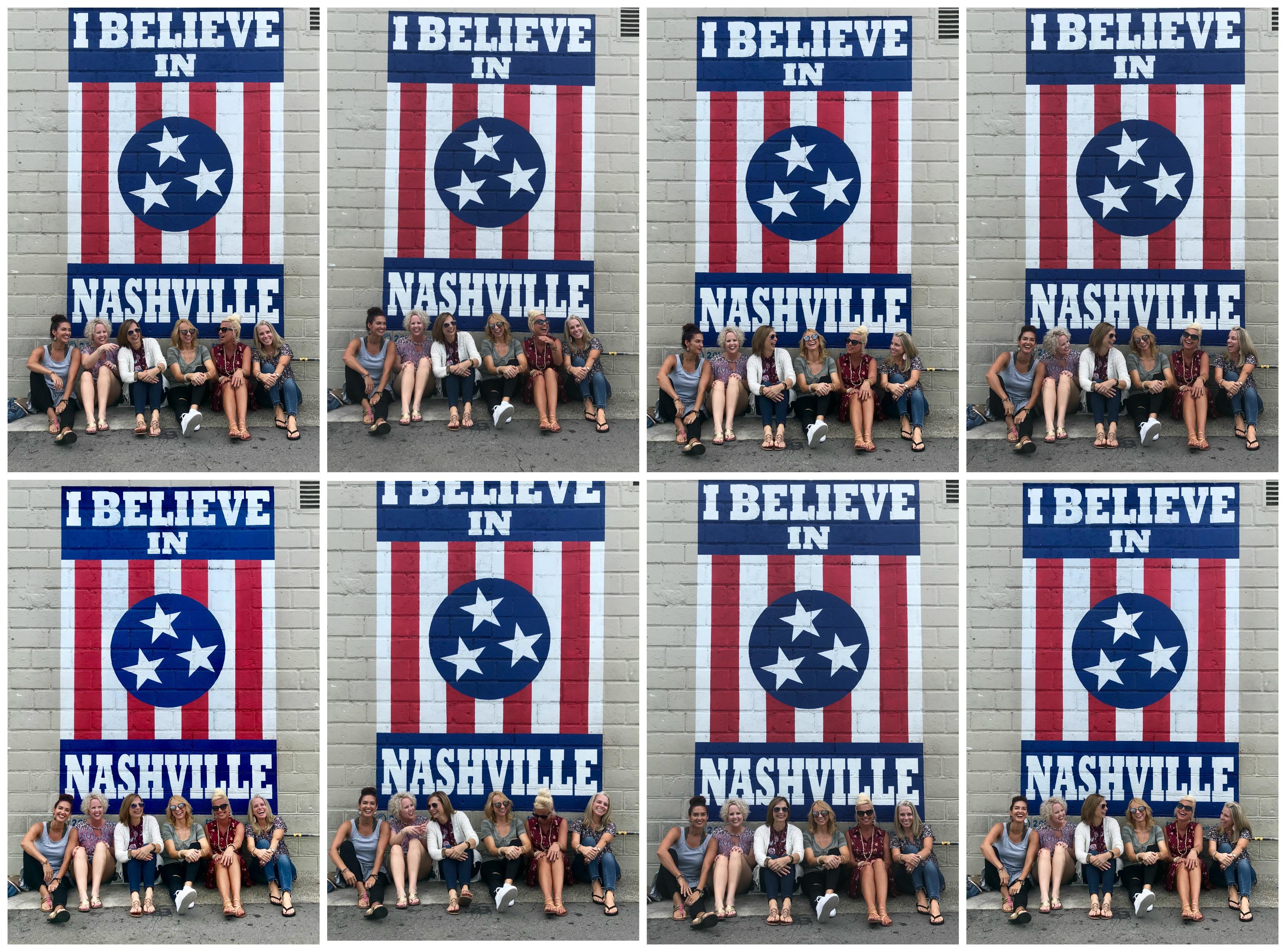 Nashville Murals, Bloggers, I believe in Nashville