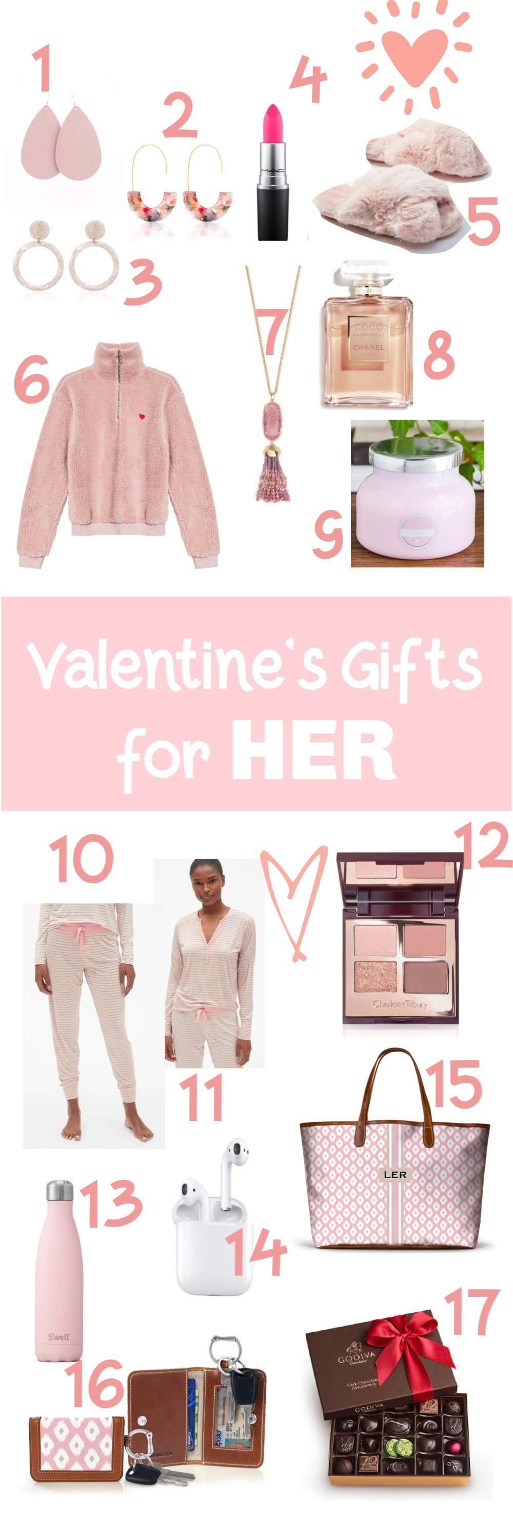 3 Things and Valentine's Gift Ideas for Her