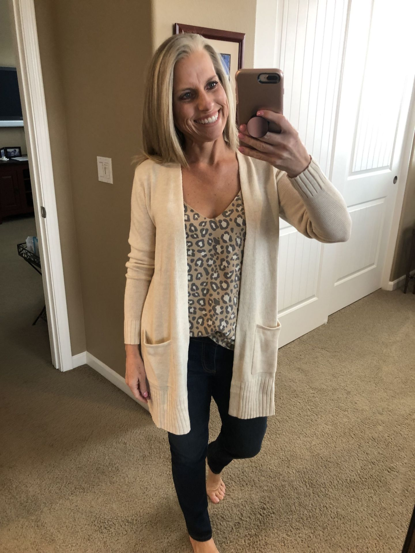 Old Navy Sweater and Target Cami