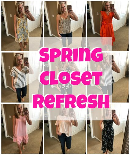 COAST TO COAST, SPRING CLOSET REFRESH