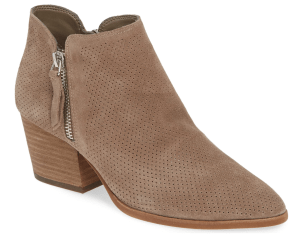 Vince Camuto Nethera Perforated Bootie, Nordstrom Anniversary Sale