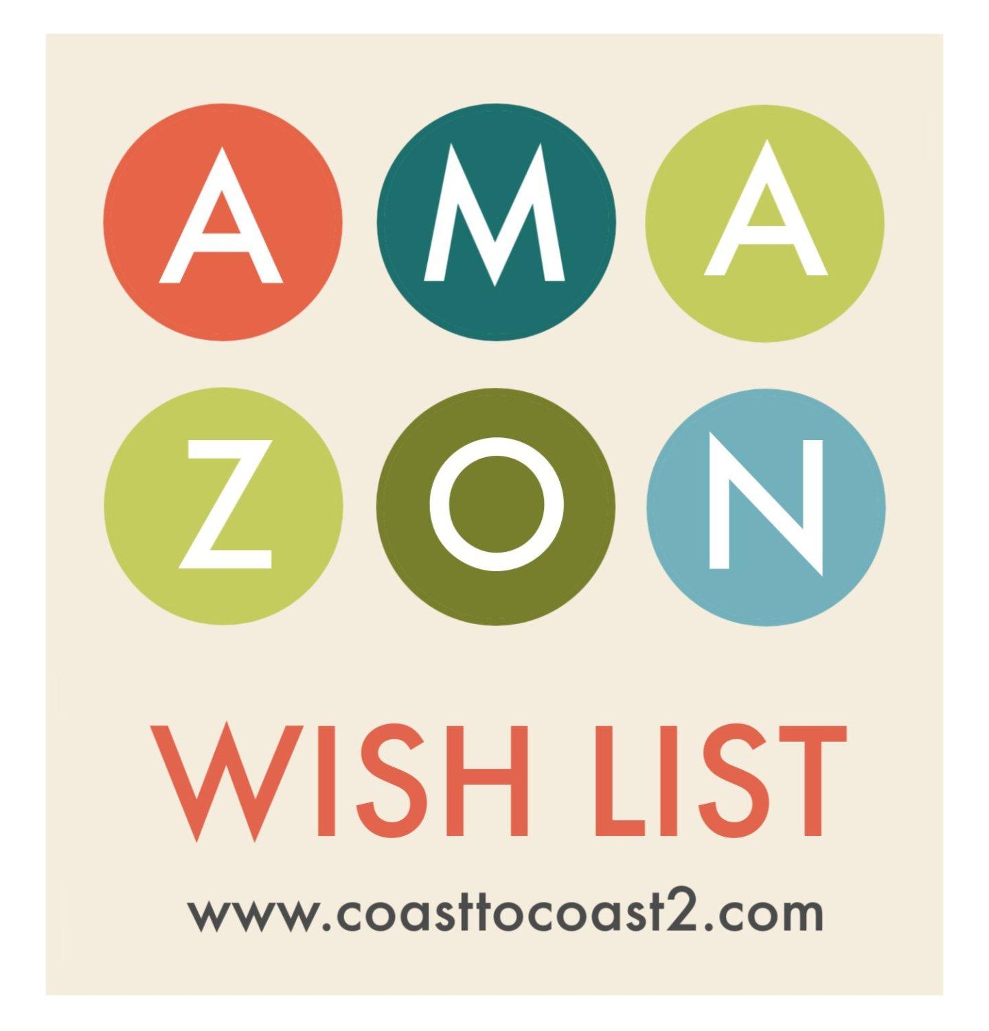 My Current Amazon Wish List
