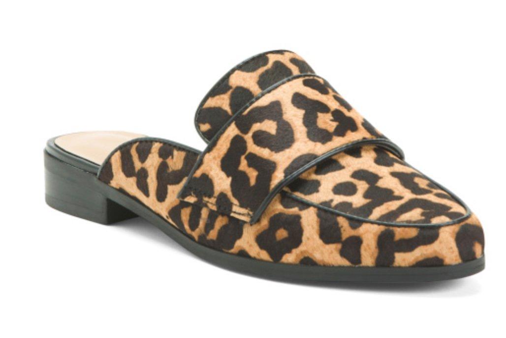 Leopard Mules, TJMaxx