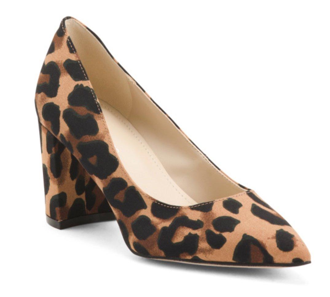 Franco Sarto Leopard Heels, TJMaxx