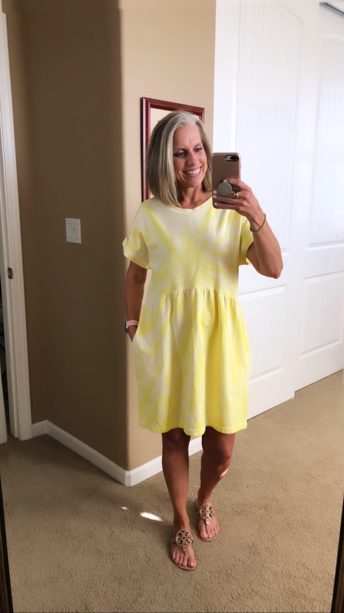 Target tie dye dress