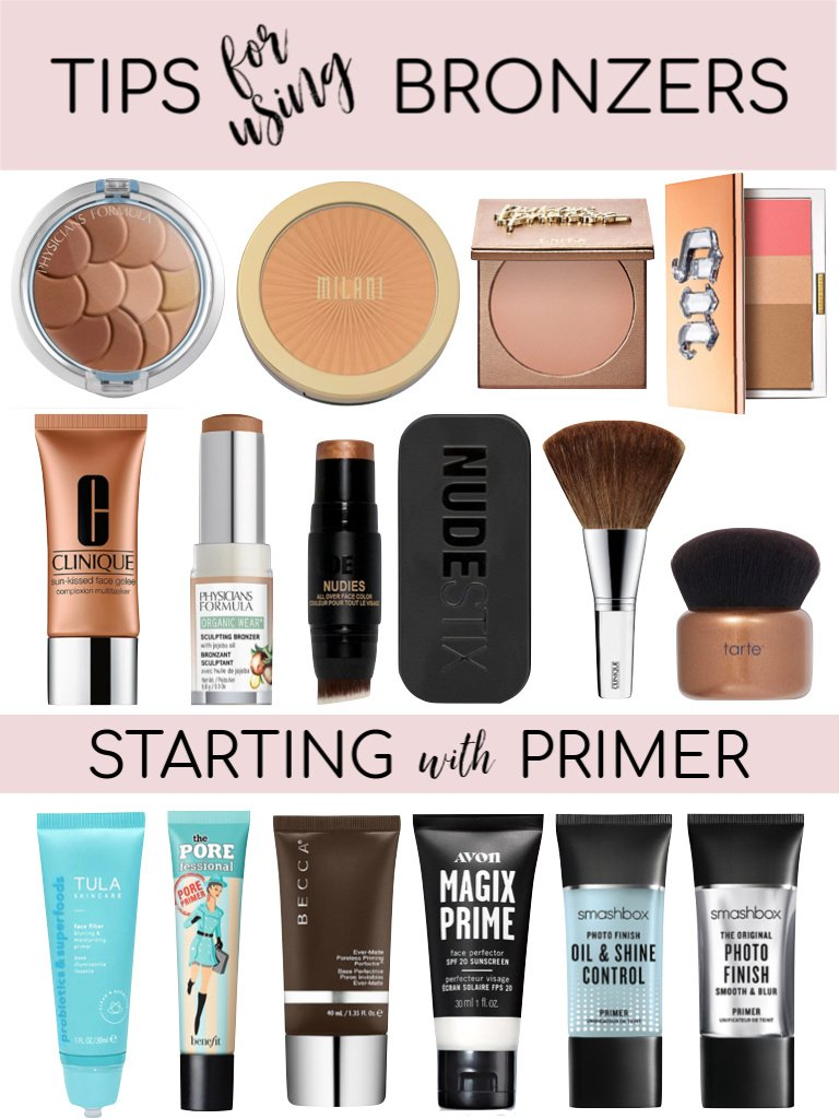 Tips for Using Bronzer