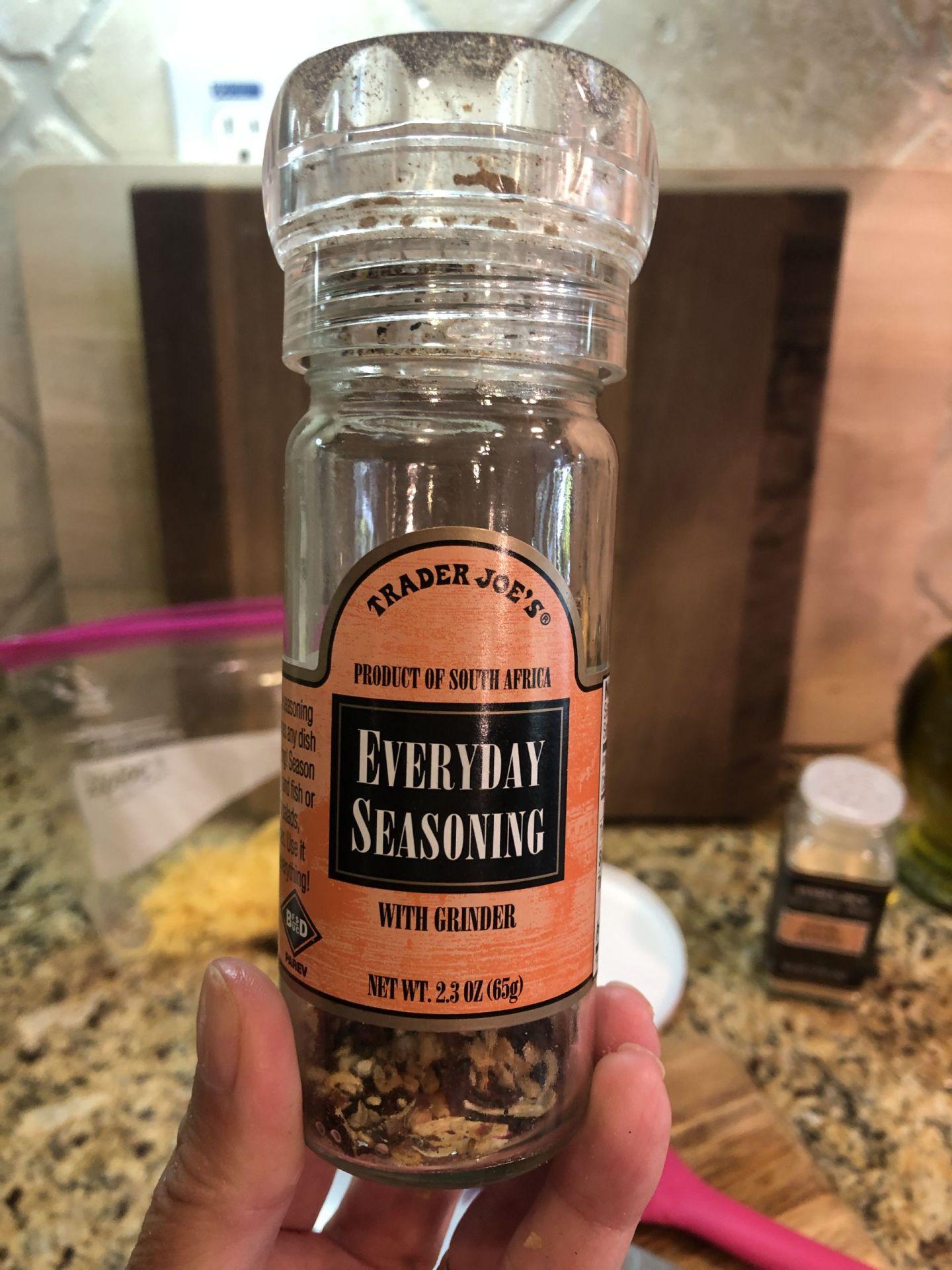Trader Joe's Everyday Seasoning, Coast to Coast Friday Favorites