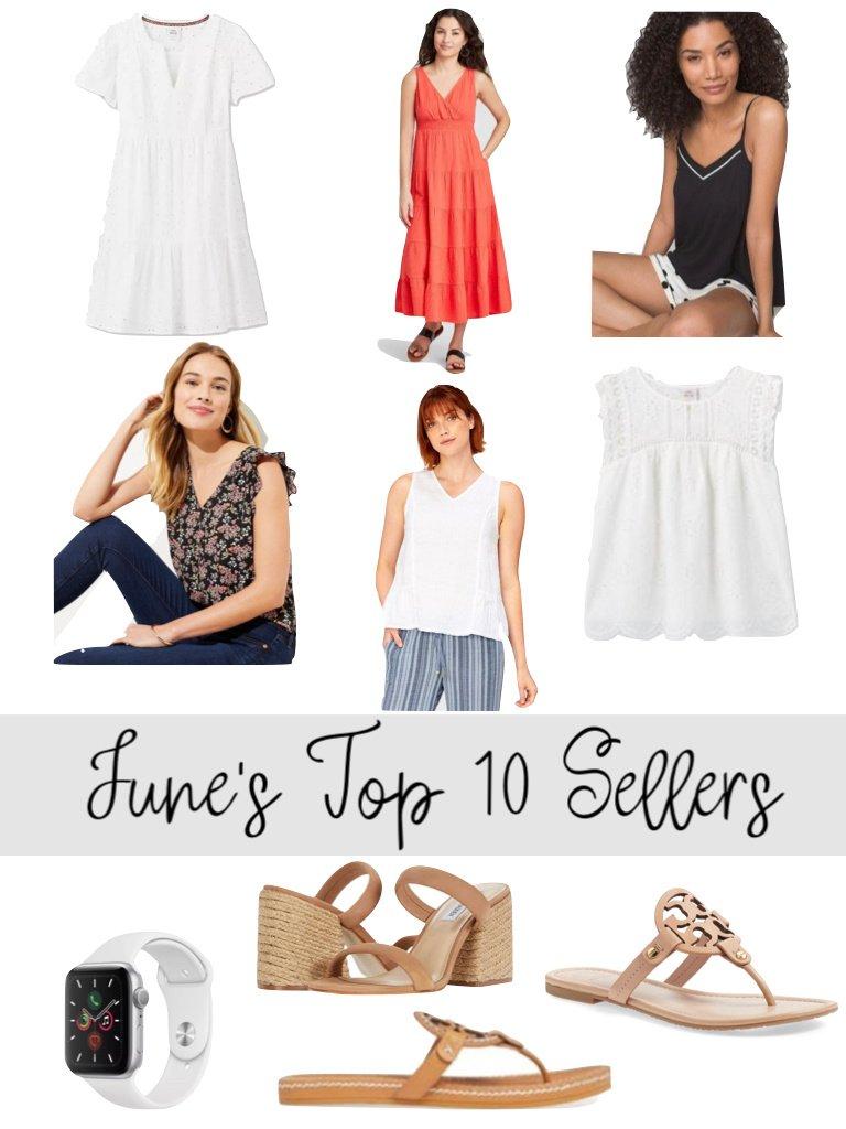 June's Top 10 Sellers