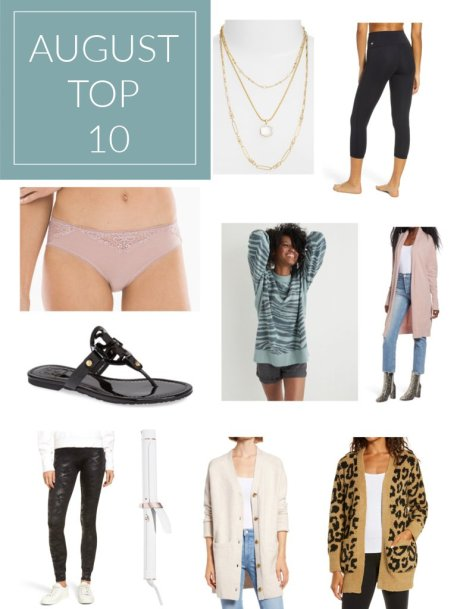 Augusts Top 10