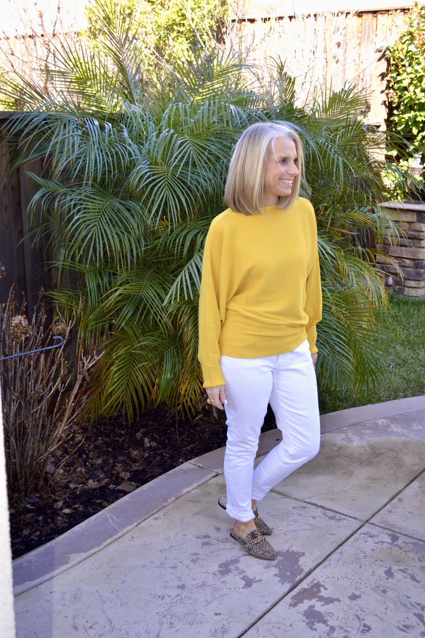 Pantone Yellow Amazon Sweater