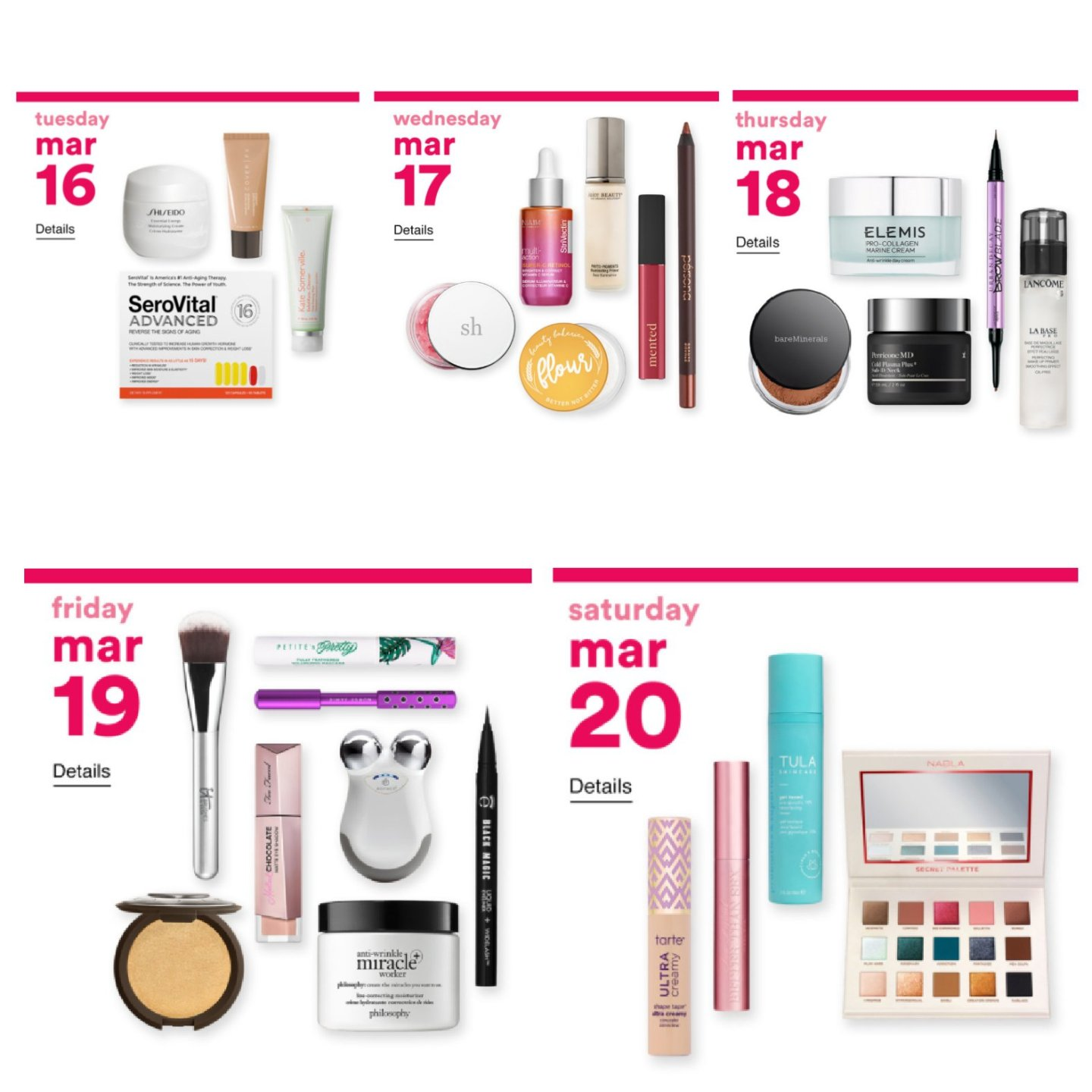 Beauty Sales at Target & Ulta