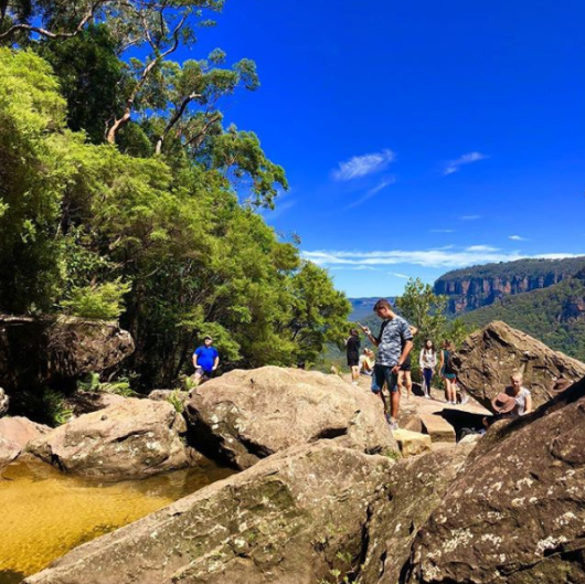 Blue Mountains Sydney Day Trip for Backpackers with Aussie BBQ